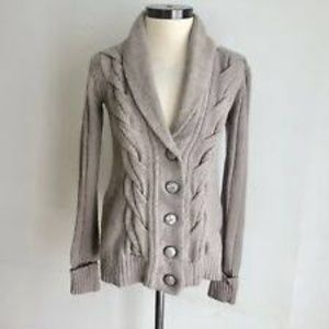 Fossil Foxcroft Cable Knit Cardigan